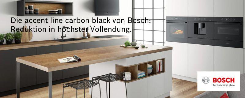 Bosch Accent Line In Carbon Black Elektrogerate Im Raum